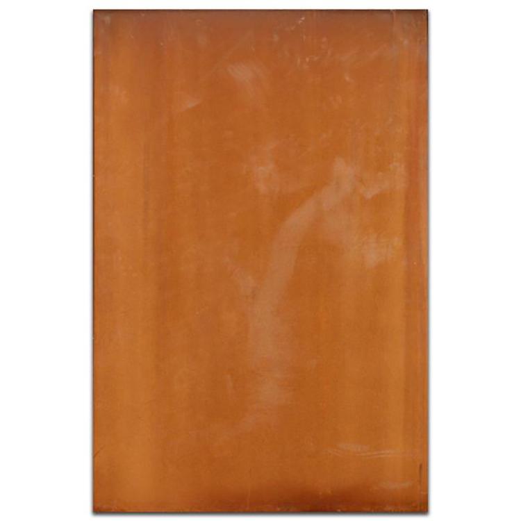 锈蚀钢板制作工艺, 钢板锈蚀工艺