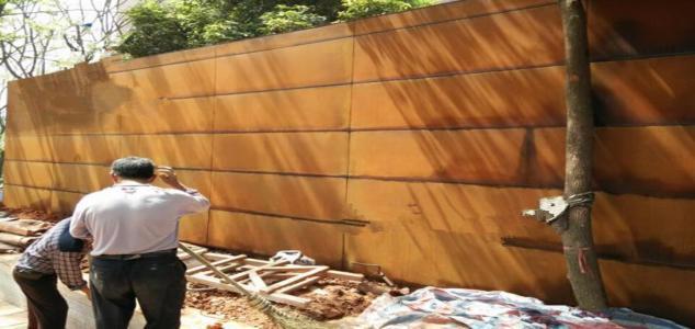 鞍山红锈镂空钢板市场继续下挫