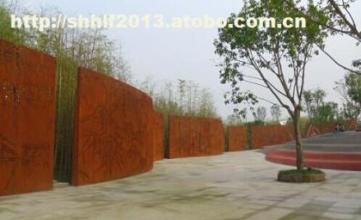 绥化红锈镂空钢板成交一般