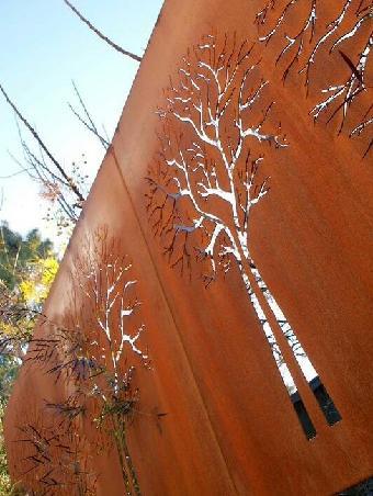 耐候钢板做锈