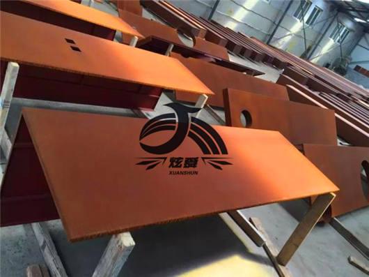 云南耐候钢板做锈:交易量不高批发商忙于高位出货